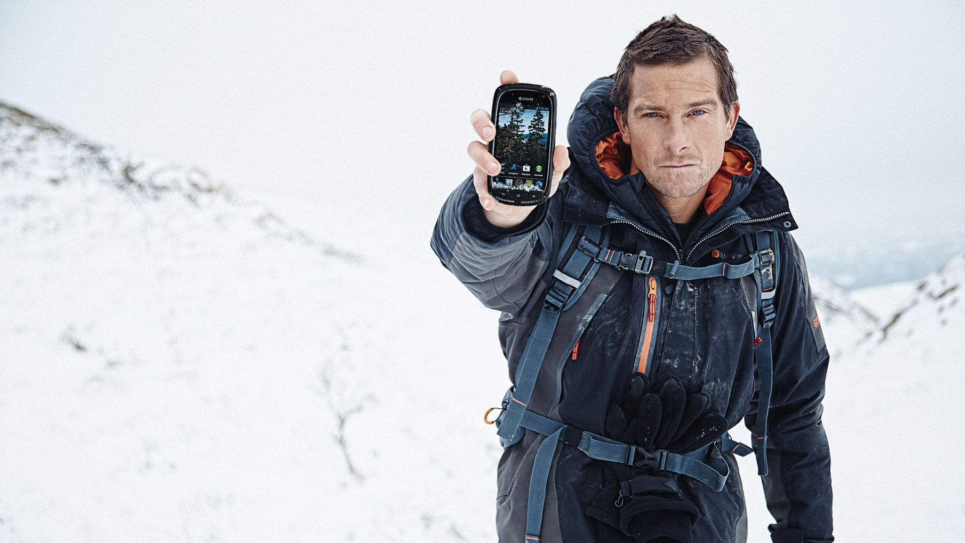 Bear Grylls Computer Wallpaper