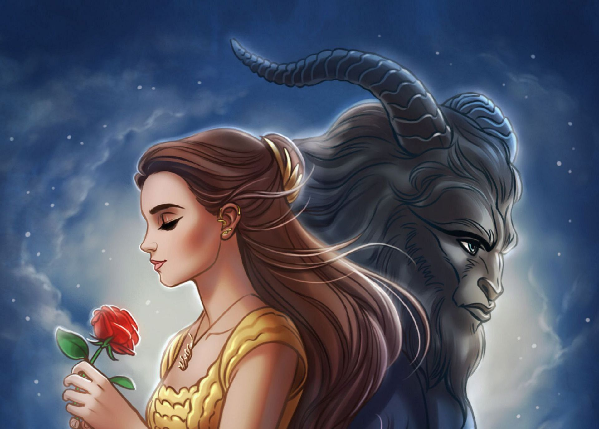 Belle Beauty And The Beast Wallpapers