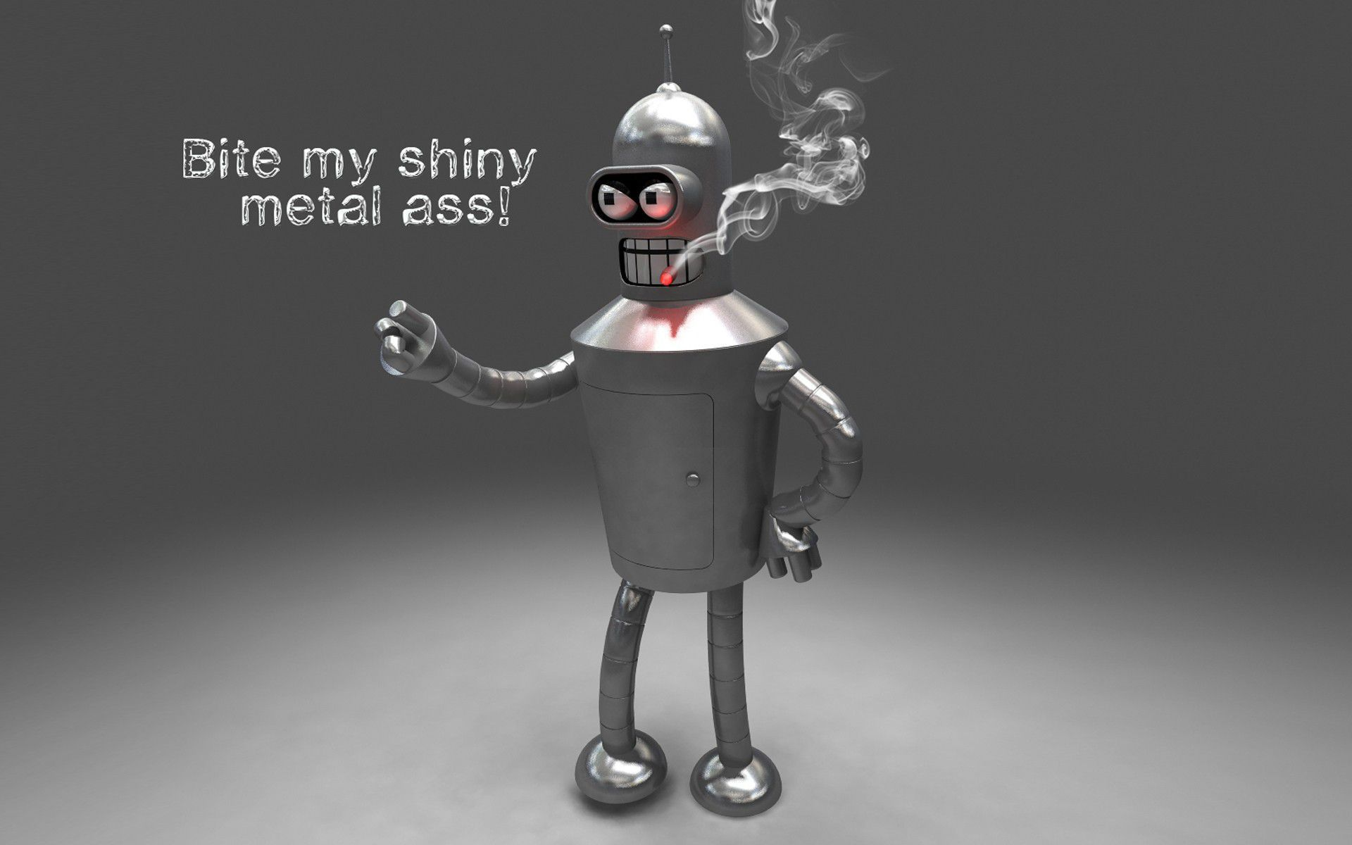 Bender Screen Monkey Widescreen Savers Ass Mi Metal Doodle Shinny