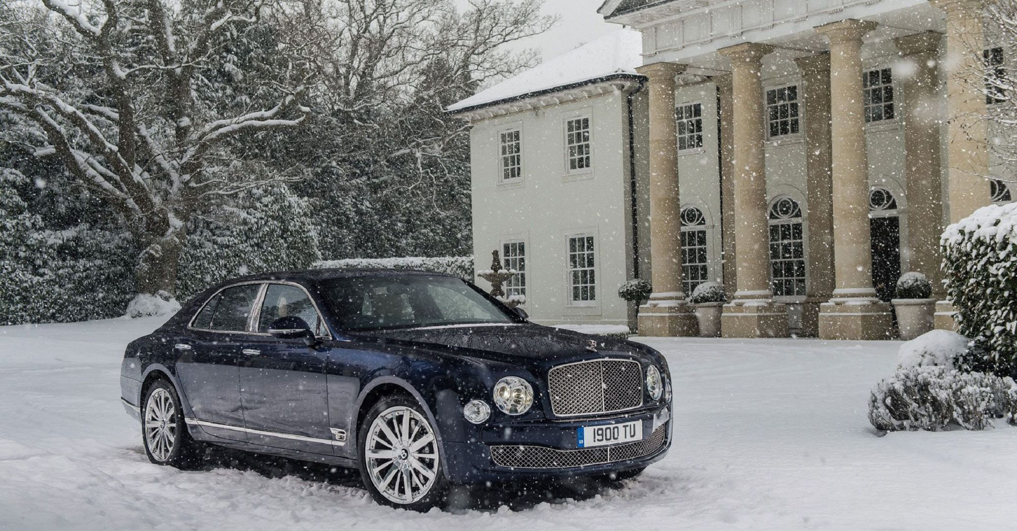 Bentley Mulsanne In High Resolution