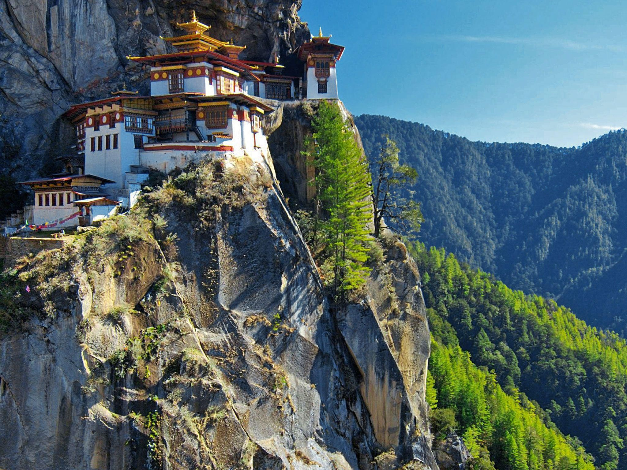Bhutan HD Background