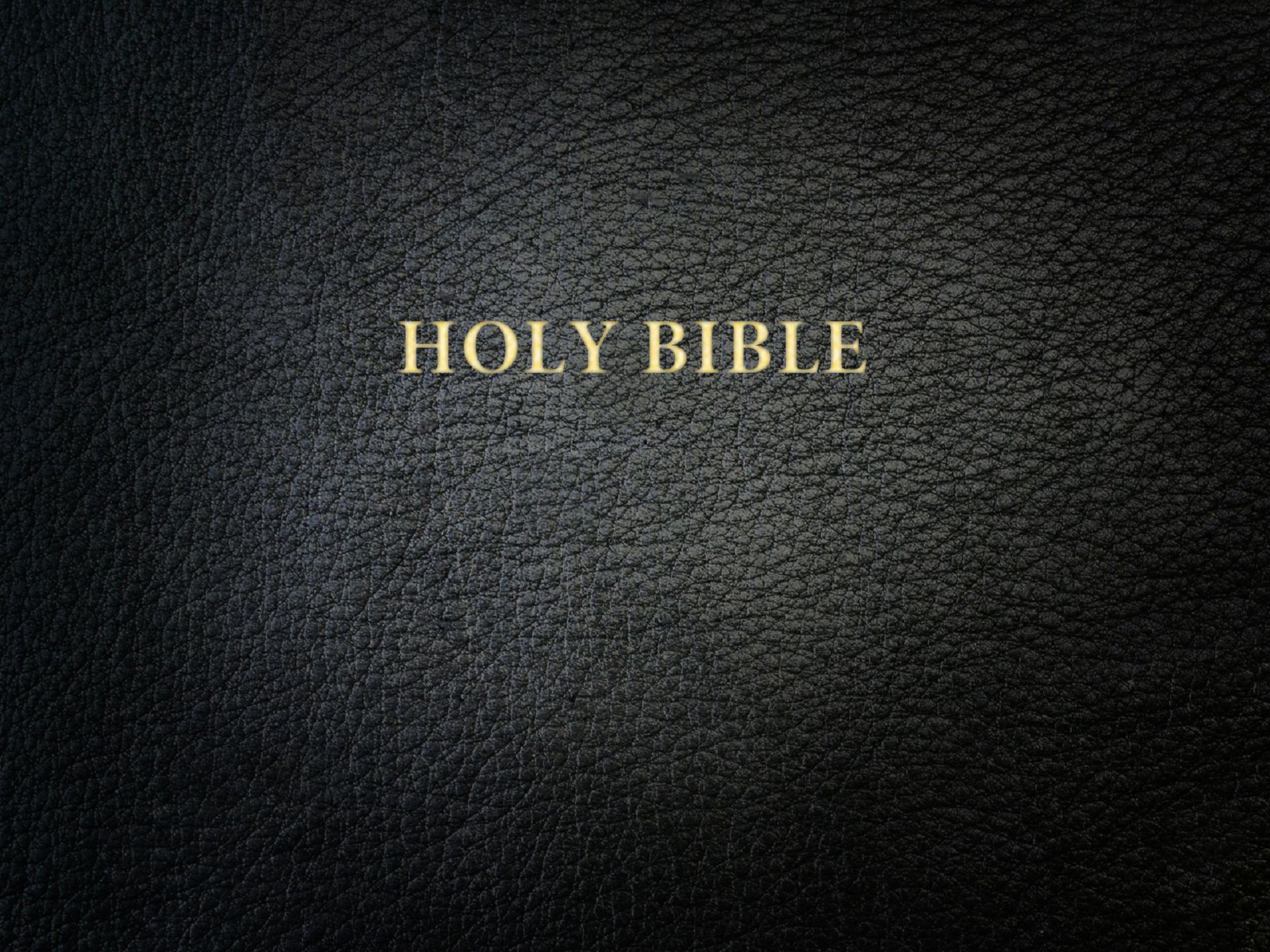 Bible Background