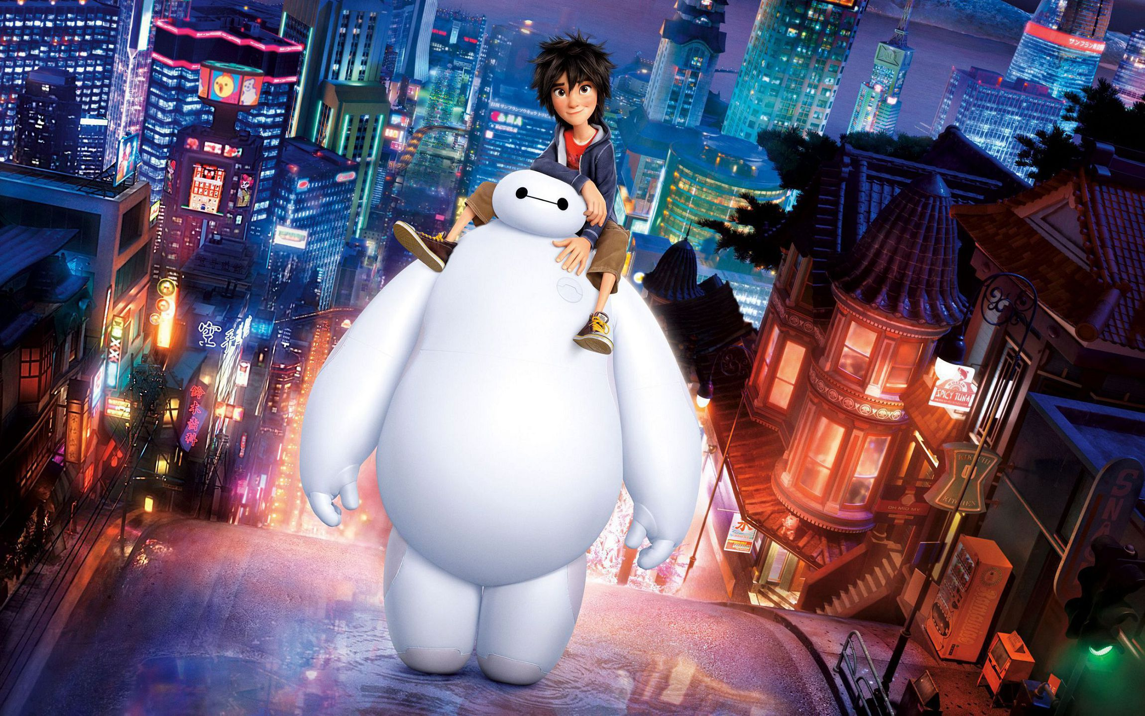 Big Hero 6 Disney Wallpaper