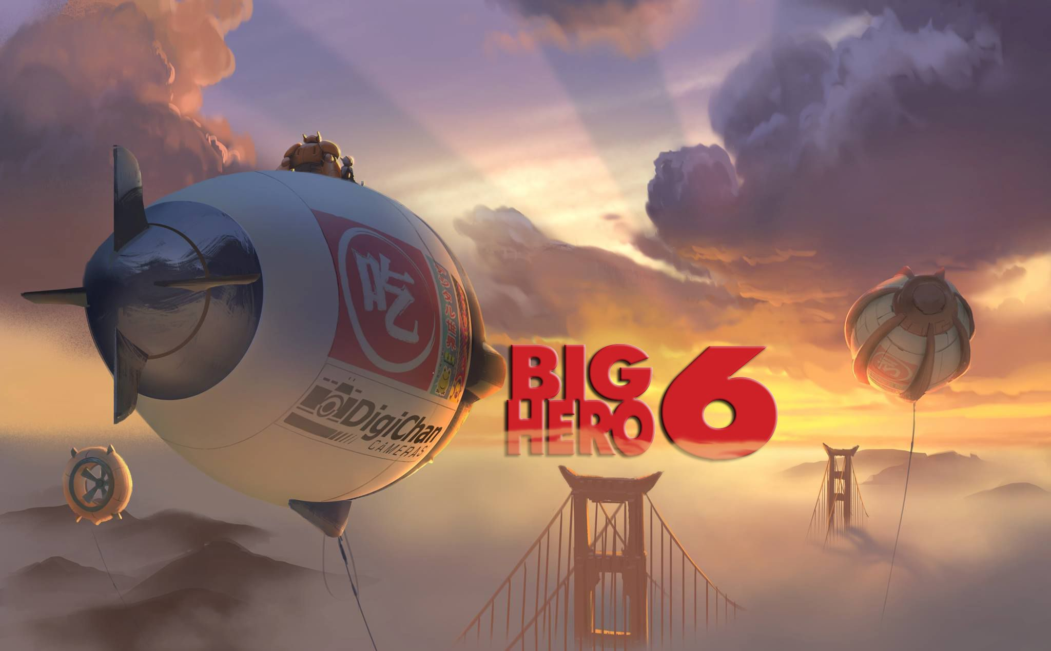 Big Hero 6 Disney Wallpaper Pack