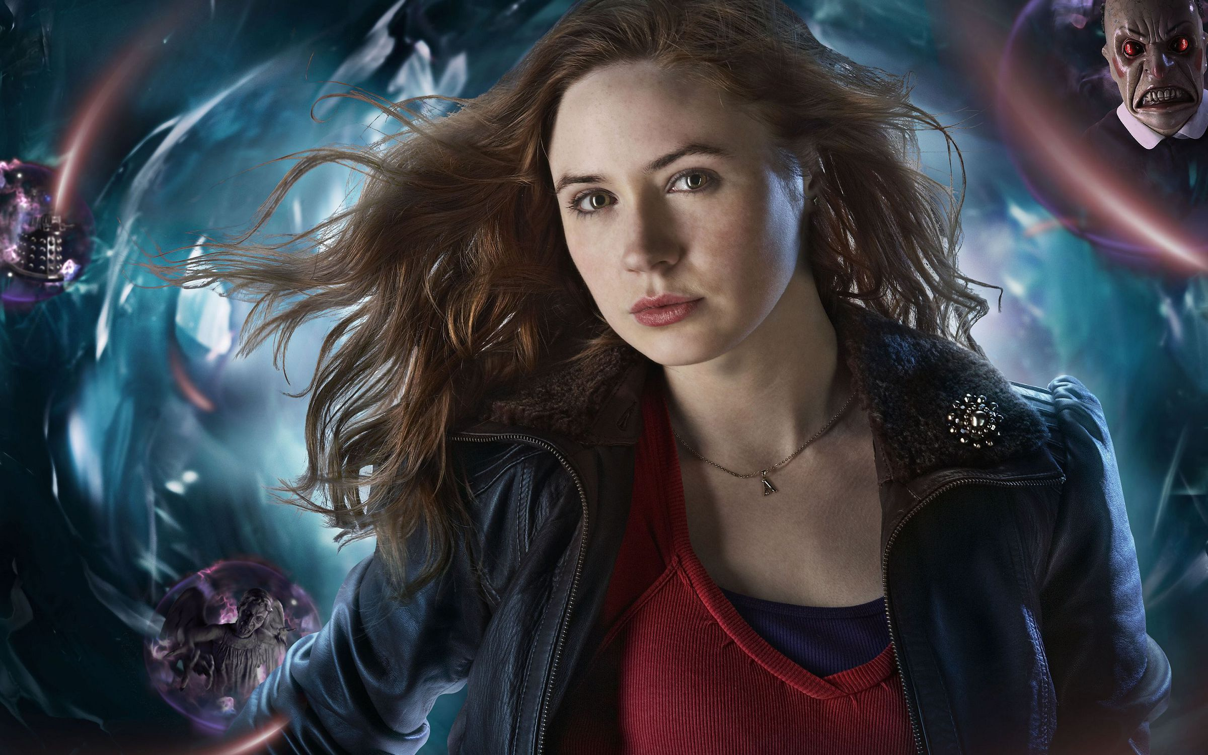 Amy Pond Wallpaper