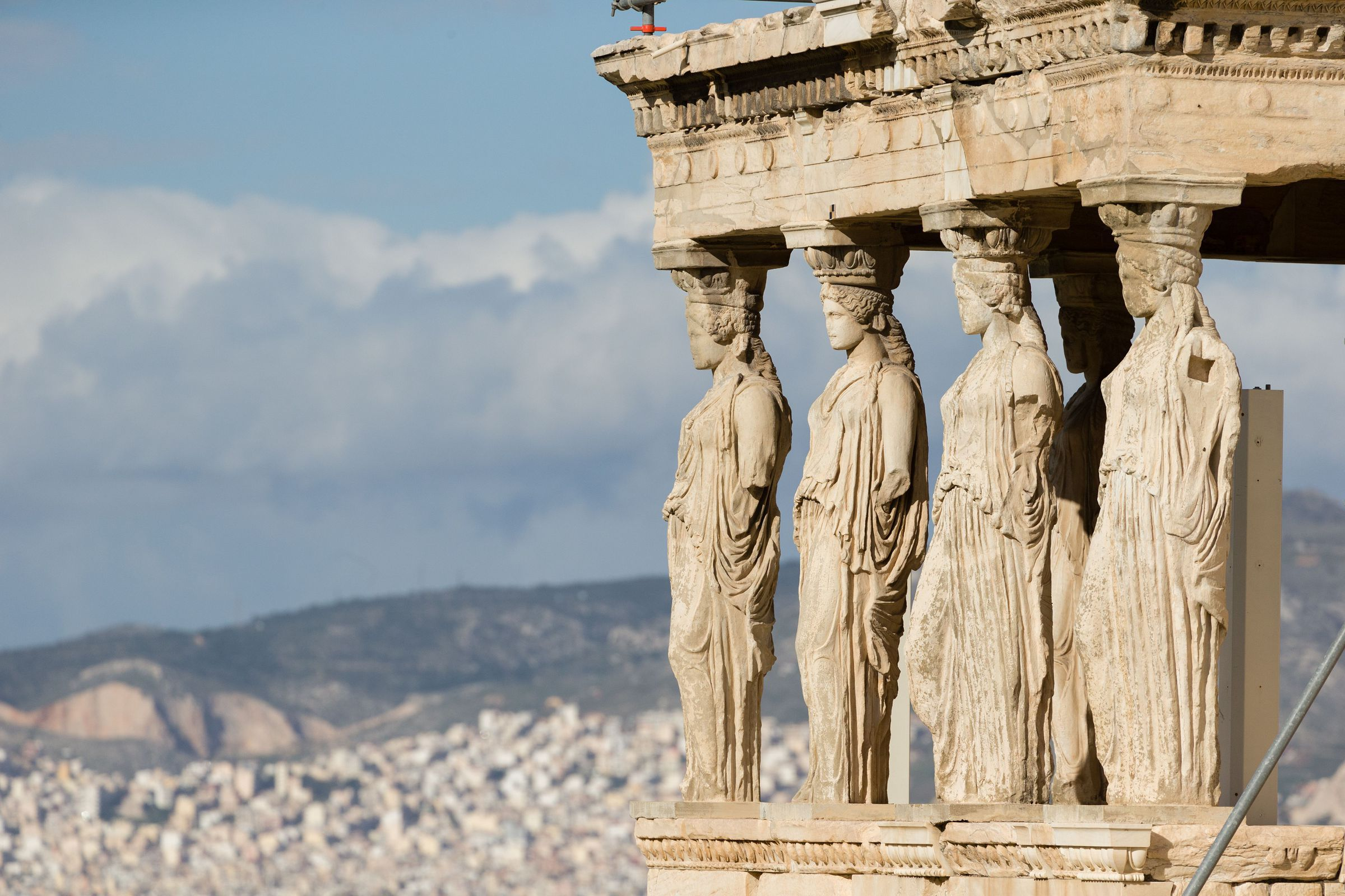 Acropolis, The Famous Erechtheum Temple