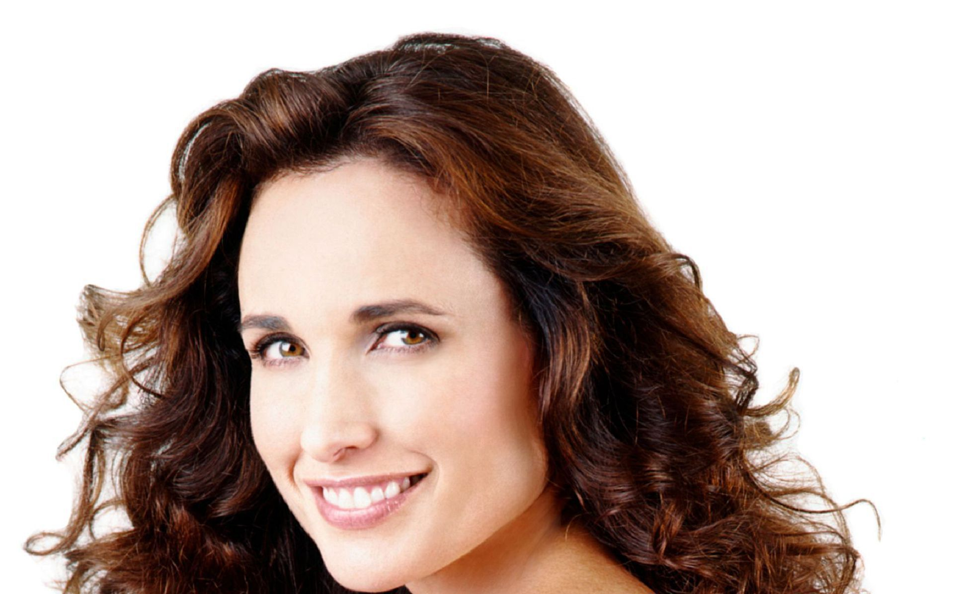 Andie Macdowell HD Wallpaper