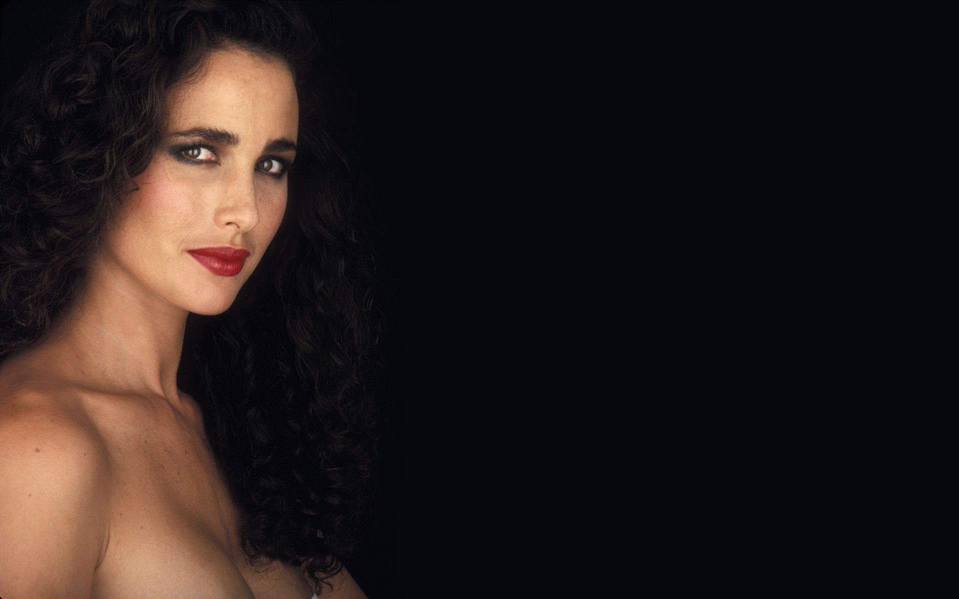 Andie MacDowell (1987) Photo Credit: Ian Miles Shooting Star™