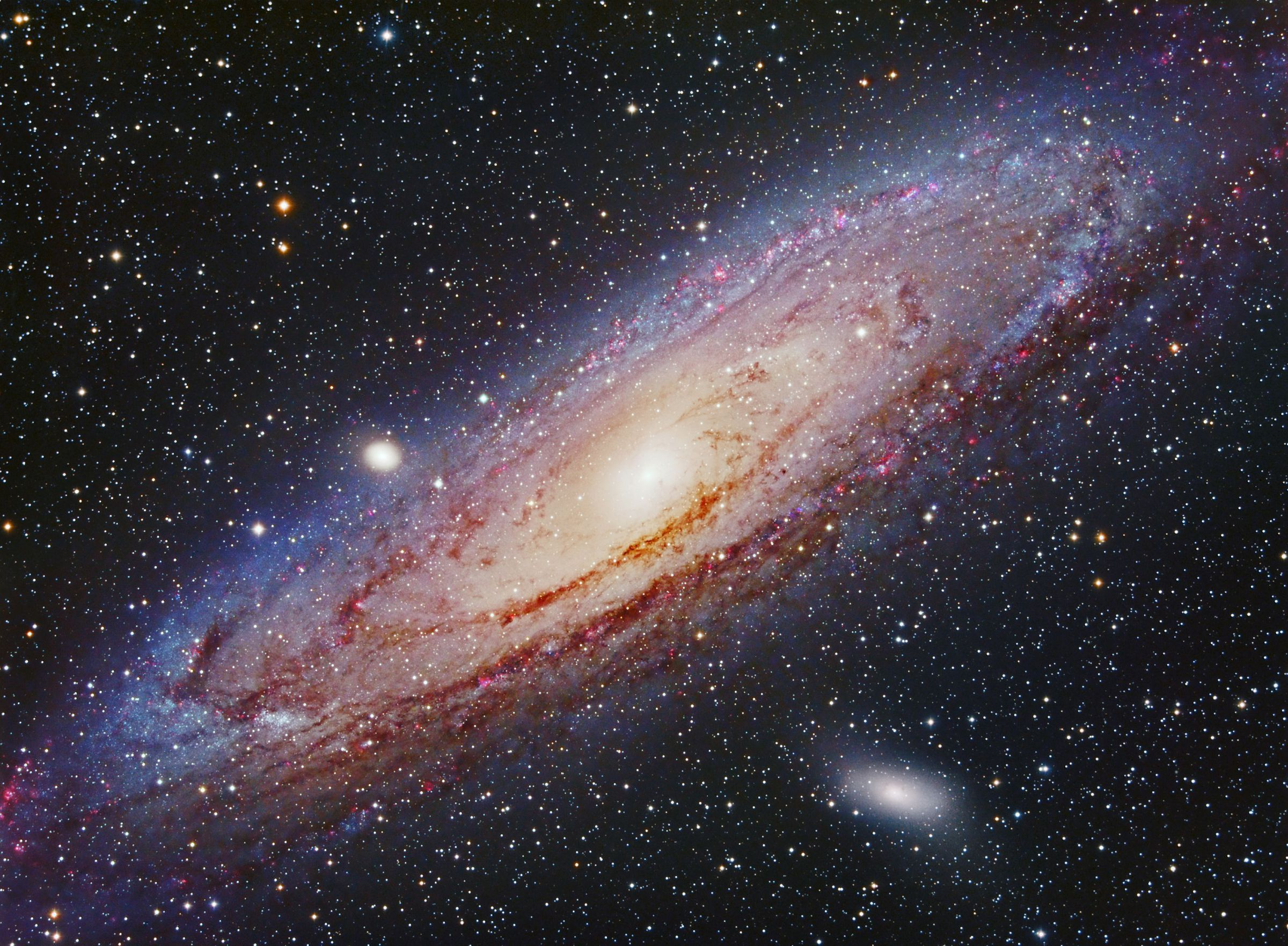 Andromeda Galaxy Gallery