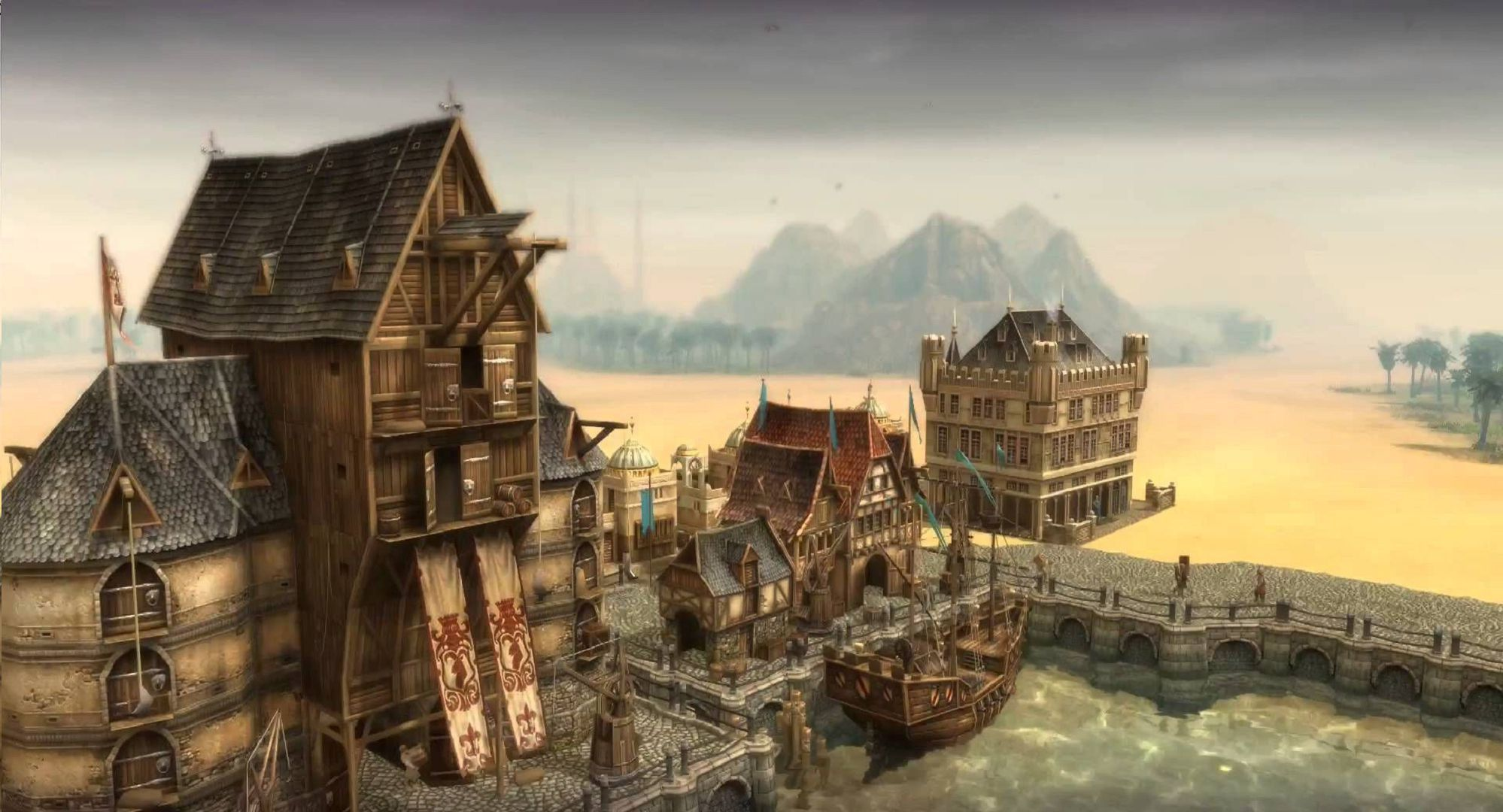 Anno 1404 Widescreen
