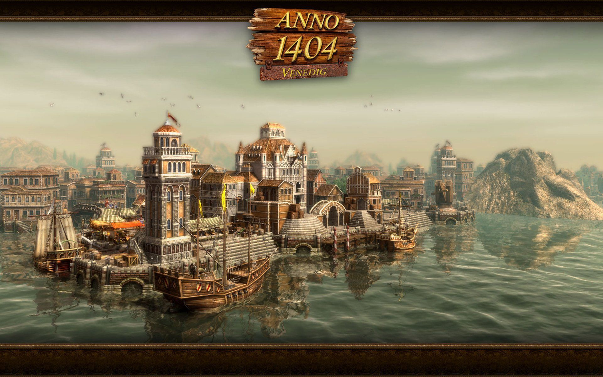 Anno 1404 Wallpaper Pack