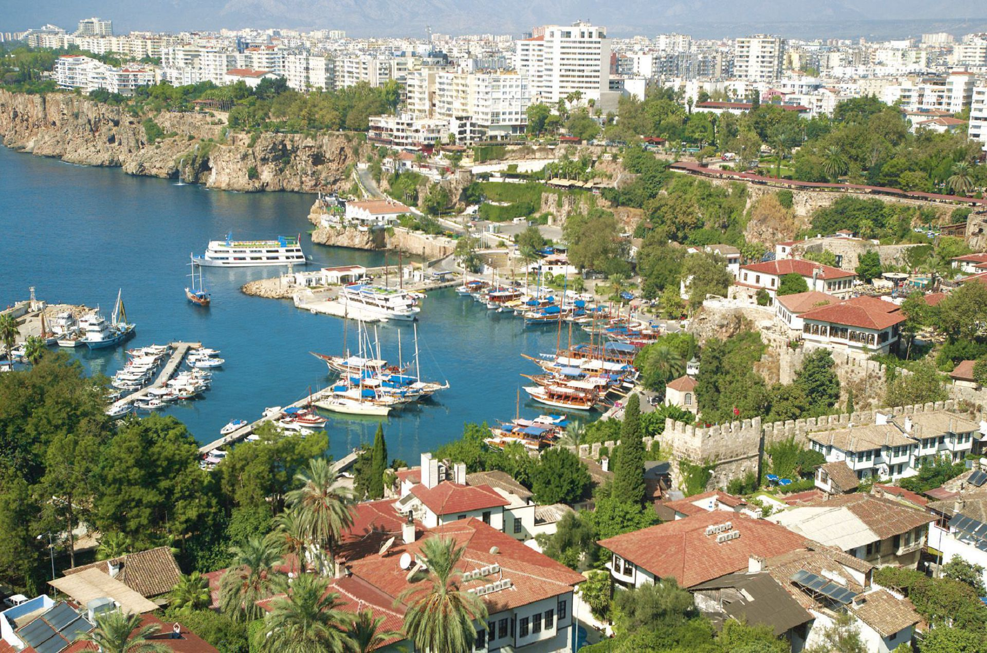 Antalya In High Resolution